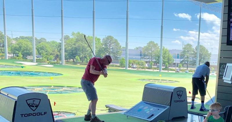 2019 Top Golf Family Fun Day